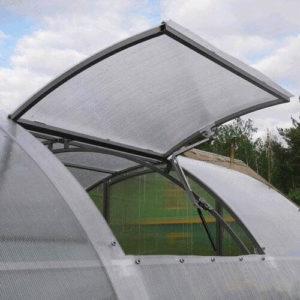 Автоматическое открывание форточек в теплице из поликарбоната