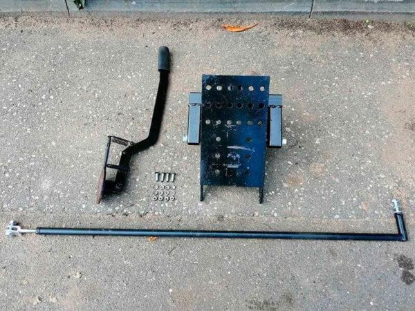 Комплект поставки подъемного механизма для навесного оборудования