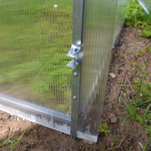 Оцинкованная лента для крепления сотового поликарбоната