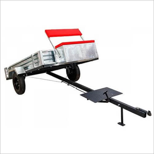 Прицеп самосвал ТМ-1700 с оцинкованным кузовом для мотоблока