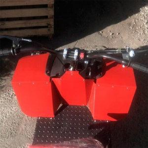 Рулевая колонка адаптера АМ-4 с рычагами управления