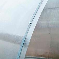 Стяжная оцинкованная лента для крепления поликарбоната