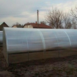 Теплица из поликарбоната Тундра Оптима от производителя «Минский завод теплиц»