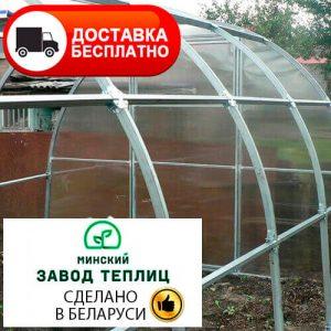 Теплица из поликарбоната Тундра Премиум с соединением краб, труба 40х20, шаг 67 см