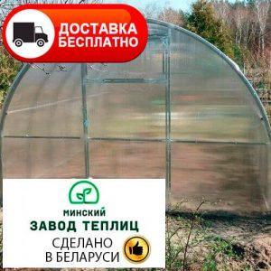 Теплица из поликарбоната Тундра Супер труба 40х20, шаг 50 см
