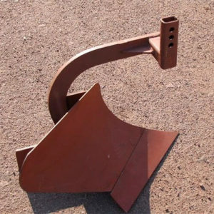 Универсальный однорядный плуг П-5 для мотоблоков