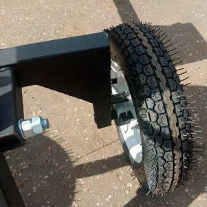 Внешний вид колеса адаптера АМ-3 к мотоблоку