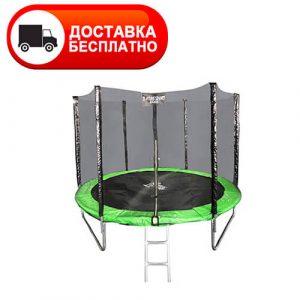 Батут Atlas Sport 312 см (10 ft) с внешней сеткой и лестницей