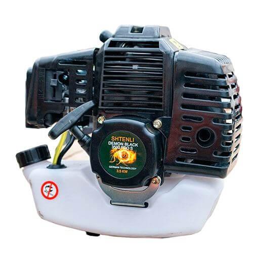 Бензиновый двигатель мотокосы Demon Black PRO S