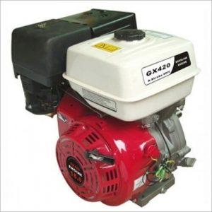 Двигатель GX 420 E (аналог HONDA) 16 л.с вал 25 мм под шпонку с электростартом
