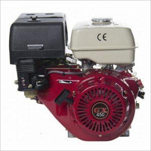 Двигатель GX 450 (аналог HONDA) 18 л.с вал 25 мм под шпонку