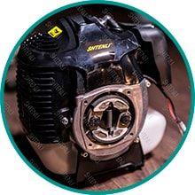 Мощный и надежный 2-ухтактный двигатель Shtenli