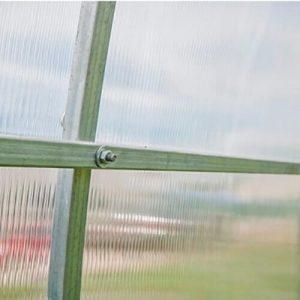 Оцинкованный металлический профиль теплицы Сибирская Люкс