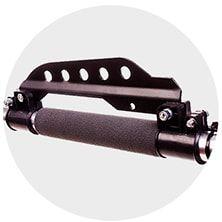 Прочный держатель ремня на штанге с 5-уровневой регулировкой высоты подвешивания газонокосилки