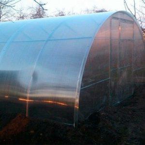 Теплица из поликарбоната 3,5 на 6 метров