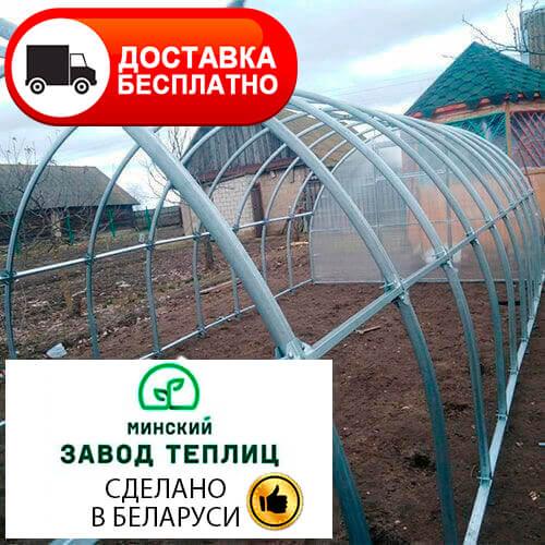 Теплица из поликарбоната МЗТ 40ЦК-0,67 с соединением краб, труба 40х20, шаг 67 см